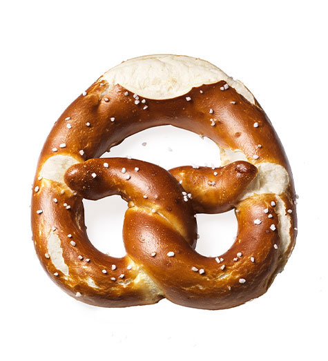 A kingdom for the pretzel king